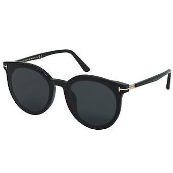 Tom Ford FT0807-K 01A Óculos de Sol Fit Asiáticos