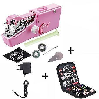 Mini machine à coudre à la main Ménage Cordless Electric Stitch Needlework Set