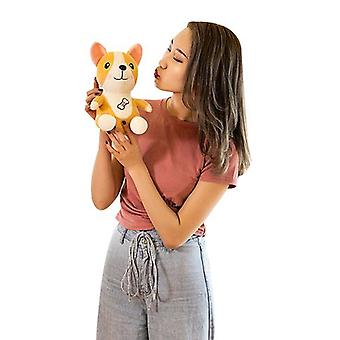 Cute New Corgi Plush Toy Dog Doll