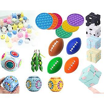 Anti-stress package: 12 anti-stress toys