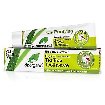 Dr. Organic Toothpaste with Organic Tea Tree 100ml