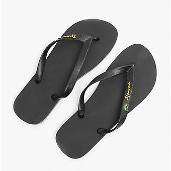 Ipanema Classic Brazil 21 Mens Flip Flops Black