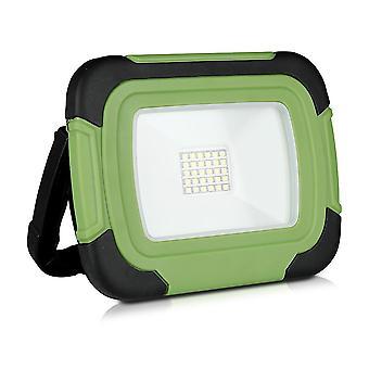 V-tac VT-20-R LED lámpara de construcción / batería-20W - 6400K - verde