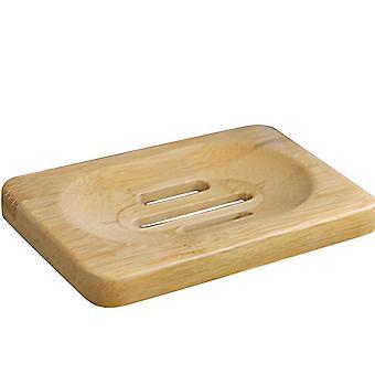 Support en bambou naturel en bois de plateau de plat de savon