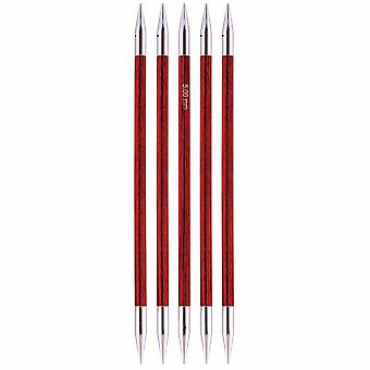 Knitpro Royale: Knitting Pins: Double-Ended: Set of 5: 20cm x 6.00mm