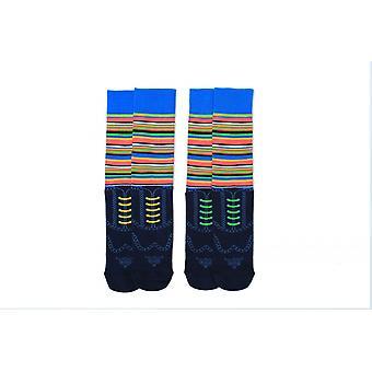 Duo Of Mens Novelty Brogue Socks