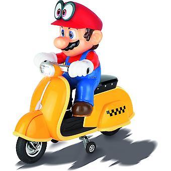 Carrera Super Mario Odyssey Scooter - Mario - Op afstand bestuurbaar - 9 km/u