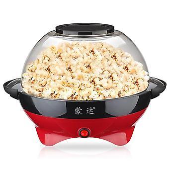 Elektrisk Diy Home Automatisk Hot Popcorn Machine Making, Kök Diy Majs, Burk
