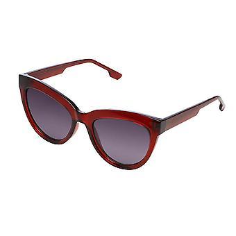 KOMONO Liz burgundy - women's sunglasses
