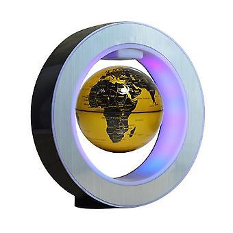 Mapa del mundo redondo led globo flotante levitación magnética magia antigravedad