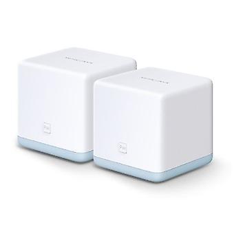 Mercusys (HALO S12) Whole-Home Mesh Wi-Fi System, 2 Pack, Dual Band AC1200, 2 x LAN on each Unit UK Plug