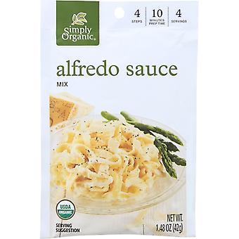 Simply Organic Mix Sce Alfredo Org, Case of 12 X 1.48 Oz