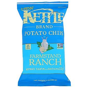 Kettle Foods Chips Kettl Farmstnd Rnch, Case of 15 X 5 Oz