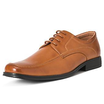 Hombres Queensberry Francis Cuero Oficina Trabajo Smart Zapatos de Boda Formales Reino Unido 6-14