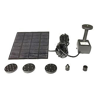 1.2 W Solar Water Pump Outdoor Watering Submersible Water Fountain For Pond Pool Aquarium Fountains Spout Garden Patio