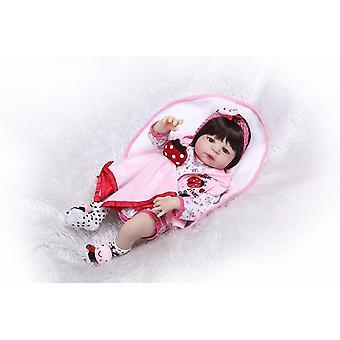 56Cm teljes test szilikon újjászületett baba baba lány újjászületett hercegnő baba születésnapi ajándék lány legjobb kísérője