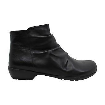 Walking Cradles Womens Esme Almond Toe Ankle Fashion Boots