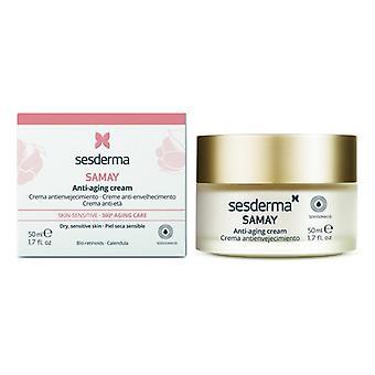 Anti-aldring krem Samay Sesderma Sensitiv hud (50 Ml)