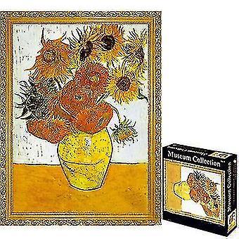 1000 volwassen legpuzzels voor olieverfschilderij, creatieve decompressie artefact, grote legpuzzel