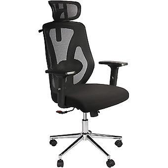 ergonomischer Verstellbarer Bürostuhl/Schreibtischstuhl/Computerstuhl mit Lordosenstütze und