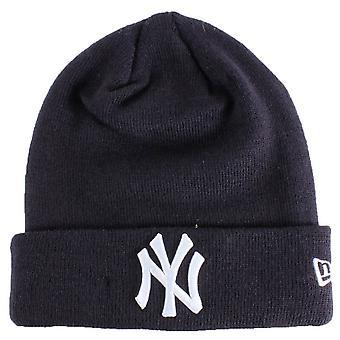 New York Yankees Essential Cuff Beanie - Laivasto/Valkoinen