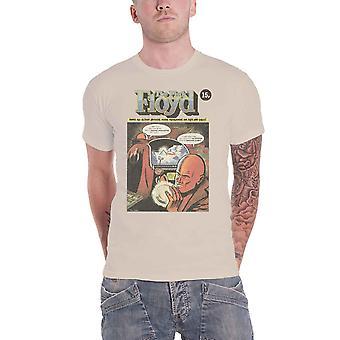 Pink Floyd T Shirt Comic Band Logo new Official Mens Vegas Gold