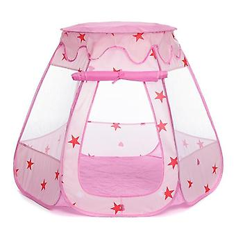 Children Baby Tent Ocean  Ball Pit Pool Play House Kid Game Toy(pink)