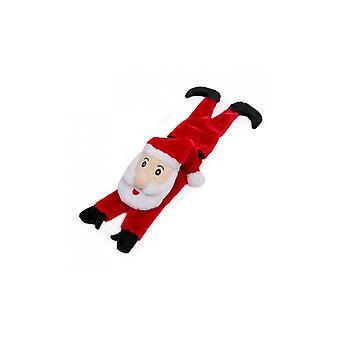 Animate Santa Claus Dog Squeak Toy