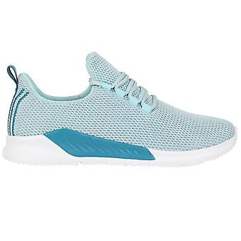 Fabric Womens Santo Eco Ladies Trainers Low Sports Lace Up Training Shoes