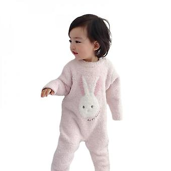 Baby Onesies Cute Soft Soft Pajamas Baby Thick Warm Romper