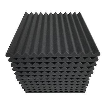 12pcs / 24pcs Studio Acoustic Foam Sound Foam Schallschutz Schützender Schwamm Schalldichte Absorptionsbehandlung Panel