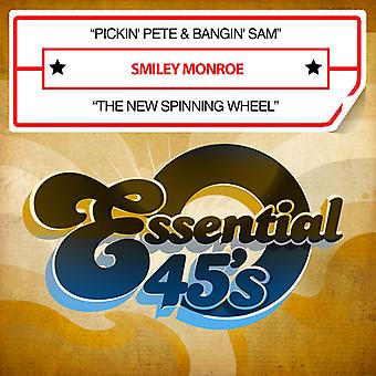 Smiley Monroe - Pickin Pete & Bangin Sam / neue Spinnrad USA import