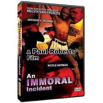 Unmoralisch Vorfall [DVD] USA importieren