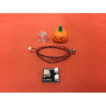 Brickstuff Lit Pumpkin Head - KIT09