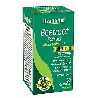 Health Aid Beetroot Extract 750mg, 60 Capsules