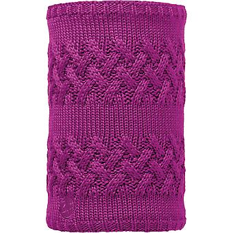 Buff Savva Knitted Neck Warmer in Mardi Grape