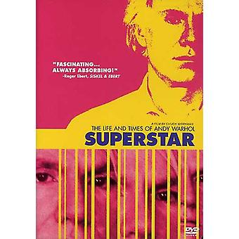 Superstar: The Life & Times van Andy Warhol [DVD] USA importeren