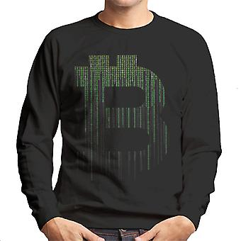Bitcoin-Matrix Herren Sweatshirt