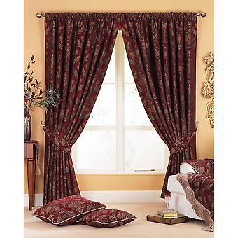 Riva Home Shiraz Pencil Pleat Curtains