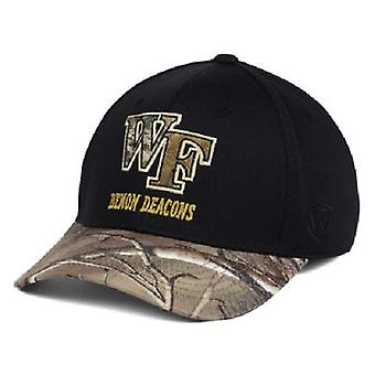 Wake Forest Demon Deacons NCAA TOW regio Camo Stretch uitgerust hoed