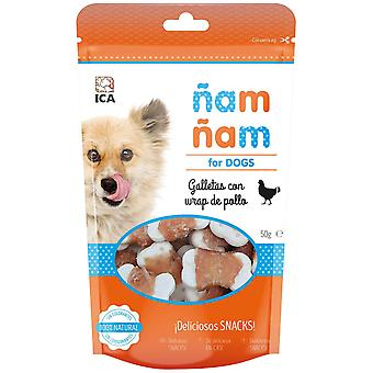 Ica Cookies with Chicken ?am ?am 50G (Dogs , Treats , Chewy and Softer Treats)