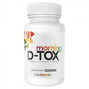 Morning D-Tox - Natural After Drink Supplement With Vitamins & Minerals for Morning Detox After Alcohol Consumption - Vegan Friendly - 48 Capsules