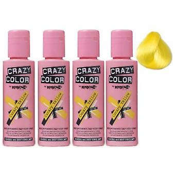 Renbow Crazy kleur Canary Yellow - 49 (4-Pack)