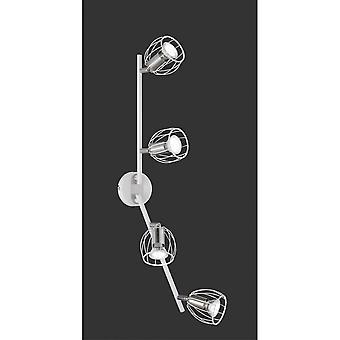 Trio Evian moderne Beleuchtung weiß Matt Metal Spot