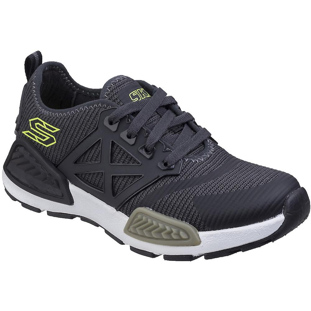 Skechers Boys Kinectors Nanovolts Lace Up Chaussures Durables Entraîneur Sportif