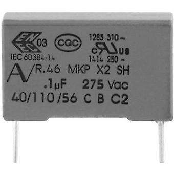 Kemet R46KN333000M1M + 1 PC('s) MKP onderdrukking condensator radiaal leiden 330 nF 275 V 20% 22.5 mm (L x W x H) 26,5 x 7 x 16