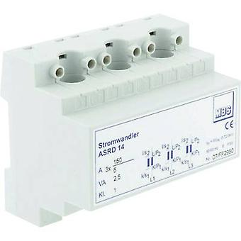 MBS ASRD 14 3X50/5A 1VA Kl.1 Current Transformers Primary current:3x 50 A Secondary current:5 A 1 pc(s)