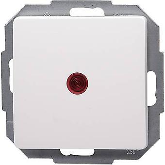 Interruptor de controle de inserir Kopp Paris branco 651693084
