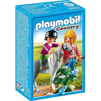 Playmobil país Pony paseo 6950