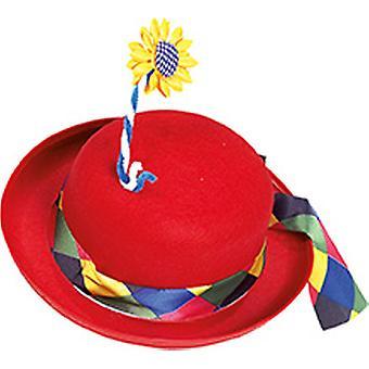 Clown melon flower accessories Hat Halloween Carnival